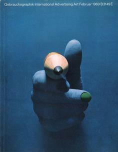 Gebrauchsgraphik in the Sixties - 50 Watts #1969 #design #magazine #gebrauchsgraphik