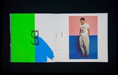 Nadine Peters #spread #print
