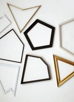 Geometric Frames #geometric #frames #shapes #frame