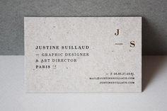 #businesscard #cardboard #logo #monogram #emboss #foil #letterpress #goldfoil
