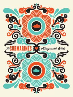 Aesthetic Apparatus #screen #print #submarines #poster