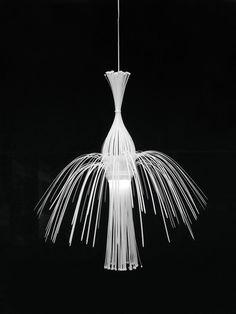 Lichtgespielin #collibri #lamp #fellerer #straps #art #lichtgespielin #marge #cable