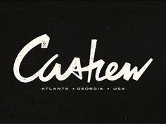 Cashew #cashew #typography