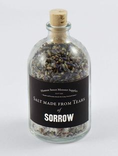 tumblr_m4i0x8mVMU1qz6f9yo1_500.jpg (499×660) #sorrow #packaging #supplies #hoxton #st #monster #salt