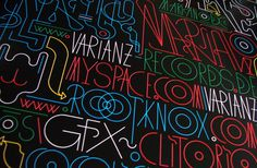 Varianz Records / Varianz 12 - 15 / Vinyl on Packaging Design Served #type #poster