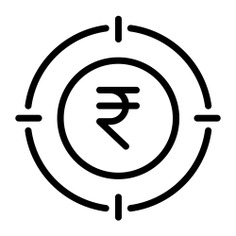 See more icon inspiration related to business and finance, rupee, aim, sniper, shooting, weapons, marketing and target on Flaticon.