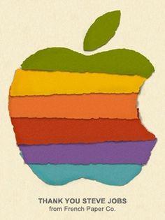 Brain Bucket #steve #apple #jobs #french #paper #mac