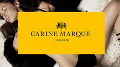 Branding and design for the exclusive lingerie range by Carine Marque. The new identity was a huge success generating a significant increase #lingerie #branding #pollen #design #carine
