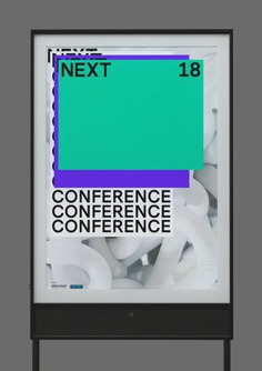 NEXT18 in 3D - Mindsparkle Mag Vincent Schwenk created a 3D Design and Animation for the Next Conference 2018 in Hamburg. #logo #packaging #identity #branding #design #color #photography #graphic #design #gallery #blog #project #mindsparkle #mag #beautiful #portfolio #designer