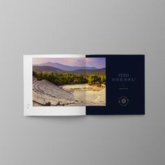 #luxury #brochure #greek #olive #bride #layout #typography