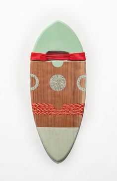 these colors! #pattern #surfing #rope #wood #handplanes