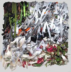 Lyons Wier Gallery: Primrose Path Engulfed in Smoke by Vadis Turner #vadis #turner #ribbon