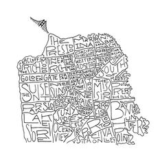 Golden State of Mind: San Francisco on Behance, Thomas Ramey #drawn #sf #hand #typography
