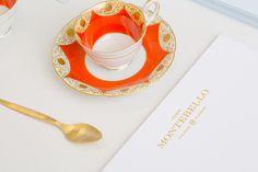 Hogar Montebello branding business card corporate design san pedro mexico mindpsarkle mag gold emboss print embossing printing pastel colors