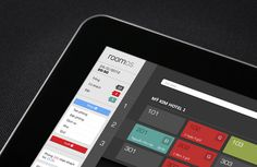 RoomOS Hotel Management on Behance #ipad #app