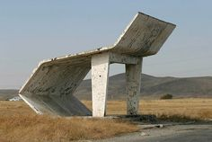 It\'s Nice That : Soviet bus stops captured by worldly photographer Christopher Herwig