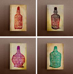 Charles Bukowski Book Series #print #jackets #book #dust #covers #illustration