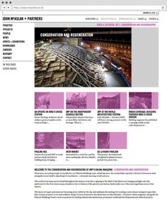 rJohn McAslan + Partners. Website.
