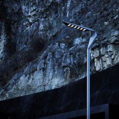 Dezeen » Blog Archive » Tagliente by Plasma Studio and Ewo #lamp #architecture #street