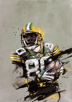 Illustration – Inspiration | Your daily dose of creativity! #illustration #design #nfl
