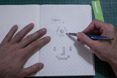 SketchyNotebook PressKit1 #notebook #product