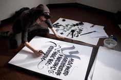 Calligraffiti artist #pokras