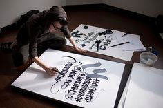 Calligraffiti artist
