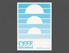 OFFF Barcelona 2012 - Duane Dalton #print #festival #poster