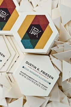 Dustin K. Friesen #identy #card #graphic