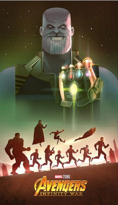 Avengers: Infinity War by Cristhian Hova