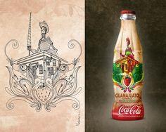 boceto-guanajuato.jpg (1280×1024) #coca #illustration #packagin #cola