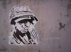 Stencil soldier #stencil #art