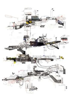 Project 360 degrees -21bis-6 #urban #drawing