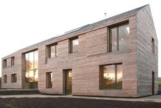 17_Feilden Fowles_Ty Pren_Solar Facade #timber #house #feilden #architecture #long #fowles
