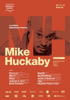 Mike Huckaby #poster