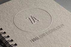 Agency Branding on Behance #logo #branding #identity #packaging #embossing #self promo #ci