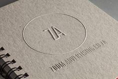 Agency Branding on Behance #logo #branding #identity #packaging #embossing #self promo #ci