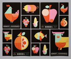 The Kitchen: Whole Foods - Moniker SF #branding #design #food