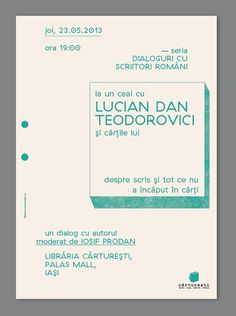 carturesti #event #design #graphic #poster