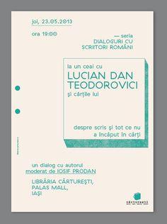 carturesti #graphic design #poster #event