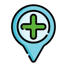 See more icon inspiration related to add place, maps and location, map pointer, map point, map location, placeholder, pointer, pin and location on Flaticon.