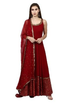 ethnic Love For Red suit