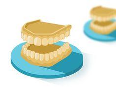Dental Model icon #flat #model #iconography #icon #dental