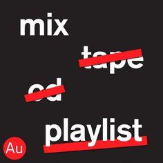 Au! Au! Au! Au! Au! Au! Au! Au! #album #design #cover #mixtape #typography