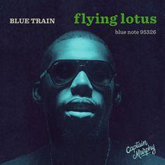 #flying #lotus #record #sleeve #john #coltrane #bluetrain #bluenote #jazz #music #homage