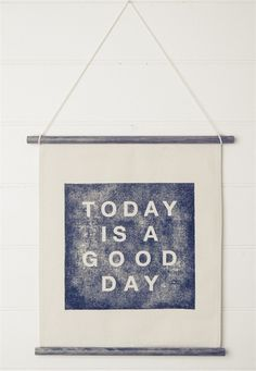 All Things Stylish #good #wall #canvas #day #today #is
