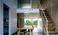 直井建築設計事務所 - 東京 - Architects | www.japan-architects.com #architecture #photo #stairs #japanese archiecture
