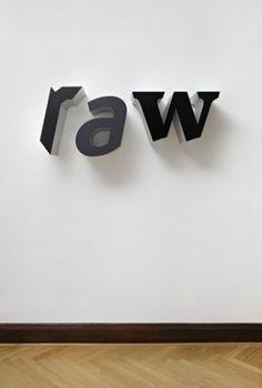Galerie Jacky Strenz - Pietro Sanguineti Works 5 #art #typography