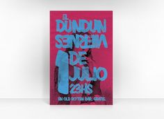 DUN DUN - ignacio fretes #design #retro #dun #illustration #poster #typography