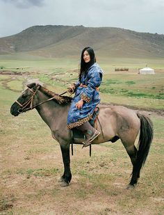 the most beautiful thing ever. Nomads + Luxuries Mongolia photographed by Frédéric Lagrange for HERMES #strength #nomad #horse #culture #balance #colour